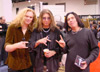 Lizzy Borden at the Namm Show 2003